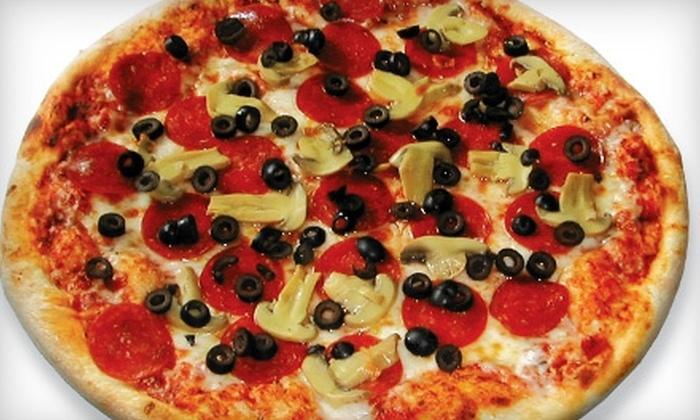Iannucci's Pizzeria & Italian Restaurant - Multiple Locations: $9 for $18 Worth of Pizza and Italian Fare at Iannucci's Pizzeria & Italian Restaurant