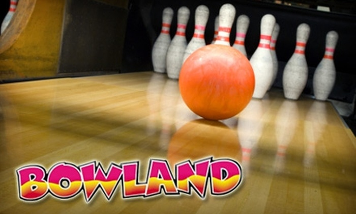 Bowland Centers - Multiple Locations: $20 for $40 Worth of Bowling, Snacks, and Shoe Rentals at Bowland Centers