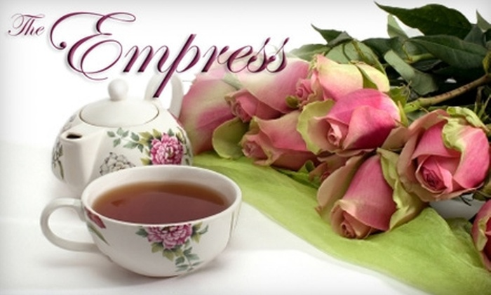 Empress Tea Room and Bistro - Temple Terrace: $11 for One Higher Tea at the Empress Tea Room and Bistro