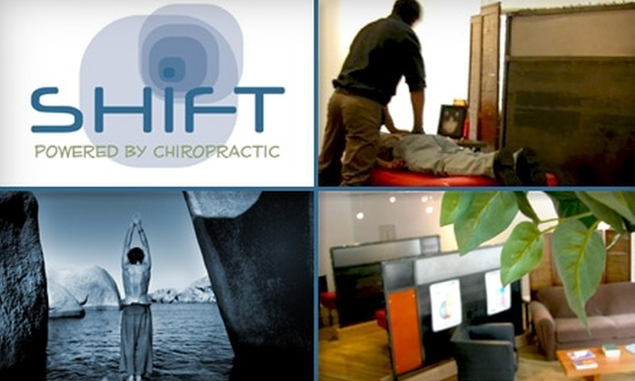 SHIFT Wellness Studio - Highland: $19 for a Bodywork Package Including Consultation, Adjustment, and 30-Minute Massage at Shift Chiropractic ($324 Value)