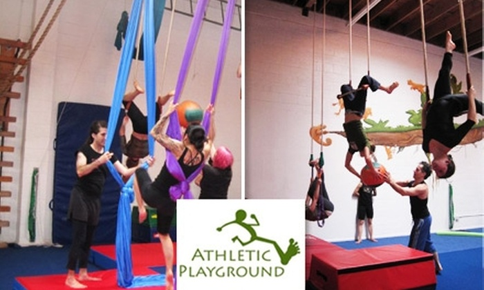 Athletic Playground - Emeryville: $30 for Five Drop-In Classes at Athletic Playground