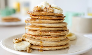 Pixies Diner: Breakfast for Two or Four at Pixies Diner (Up to 52% Off)