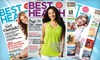 """Best Health Magazine"": $12 for One-Year Subscription to ""Best Health Magazine"" ($25.32 Value)"