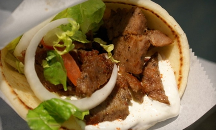 Jordan Valley Cafe - Pensacola / Emerald Coast: $8 for $16 Worth of Gyros, Mediterranean Cuisine, and Drinks at Jordan Valley Cafe