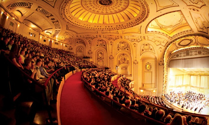 St. Louis Symphony - Grand Center: One Admission to Five St. Louis Symphony Concerts at Powell Hall. Two Seating Options Available.