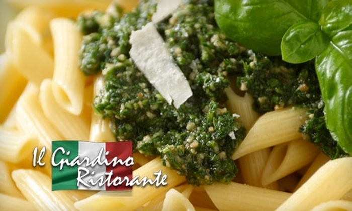 Il Giardino Ristorante - Newport Beach: $30 for $60 Worth of Italian Cuisine and Spirits at Il Giardino Ristorante in Newport Beach