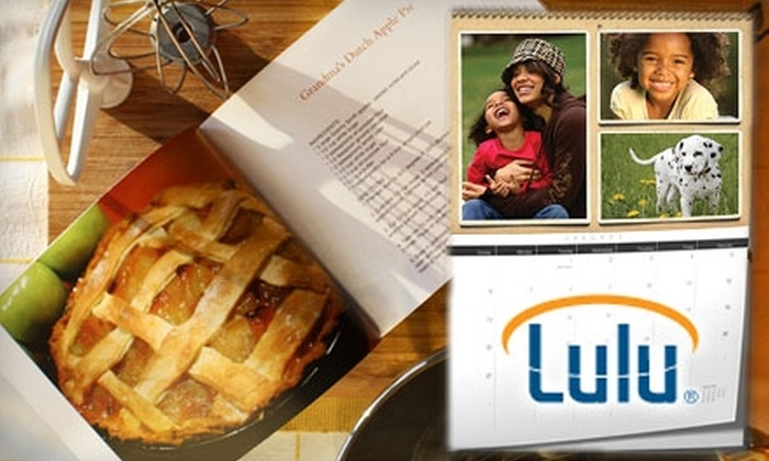 "Lulu.com: $10 for a 9""x7"" Hardcover Photo Book or a Premium Calendar from Lulu.com (Up to $24.95 Value)"