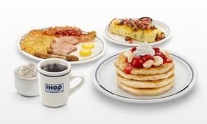 40% Off Breakfast Cuisine at IHOP  at IHOP, plus 6.0% Cash Back from Ebates.