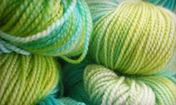Wynona Studios - Citizen Involvement Committee: $45 for a Learn to Knit or Learn to Crochet Three-Class Series at Wynona Studios in Oregon City ($90 Value)