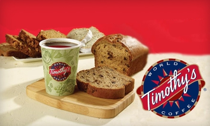 Timothy's Cafe - Tuxedo: $5 for $10 Worth of Coffee, Sandwiches, and More at Timothy's Café