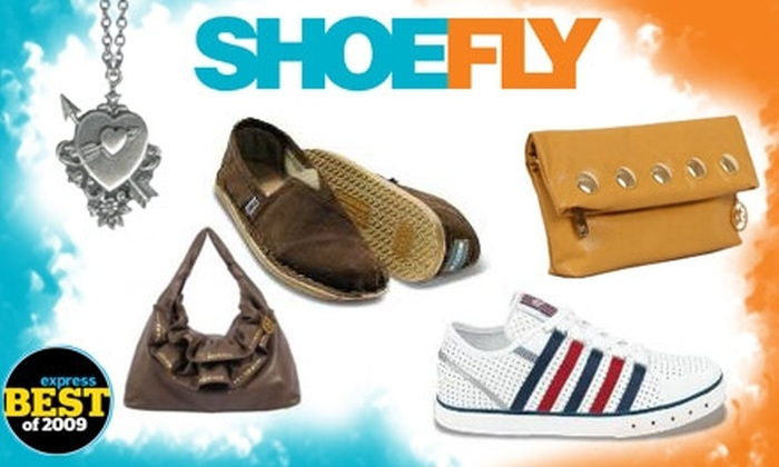 Shoe Fly - Lyon Village: $25 for $50 Worth of Shoes, Handbags & Jewelry at ShoeFly