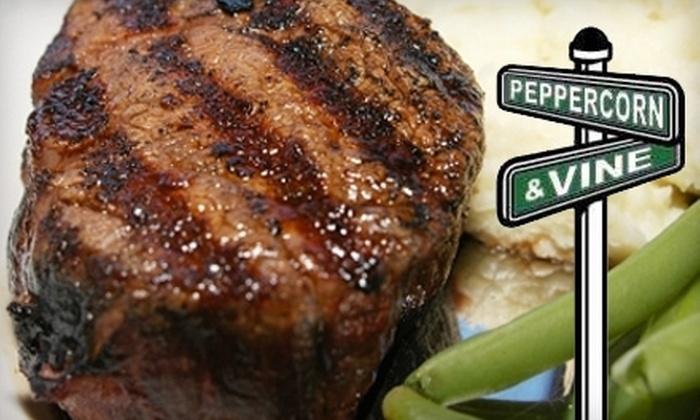 Peppercorn & Vine - Meadville: $15 for $30 Worth of Contemporary American Fare at Peppercorn & Vine