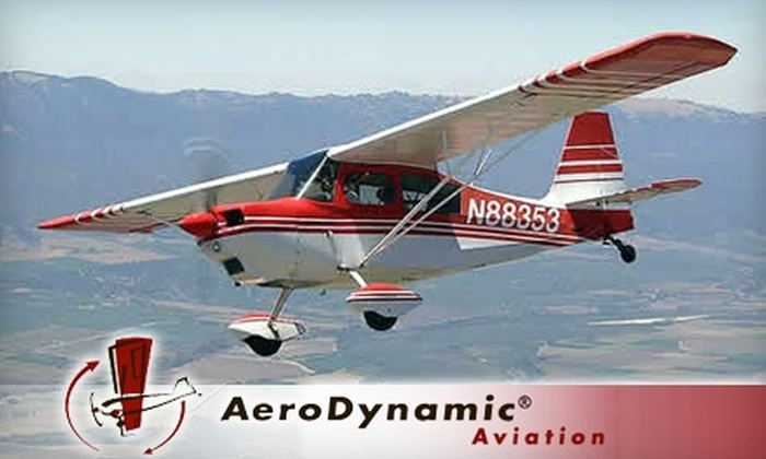 AeroDynamic Aviation - Alum Rock: Flight Lessons or Bay Tour from AeroDynamic Aviation. Three Options Available.