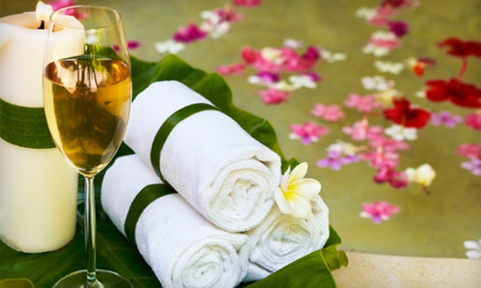 The Spa at Evergreen - Atlanta: $125 for a Spa Package and Champagne for Two at The Spa at Evergreen in Stone Mountain (Up to $360 Value)