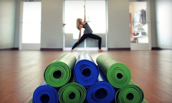 Stray Dog Yoga Studio - Wexford: $35 for One Month of Unlimited Yoga or 10 Classes at Stray Dog Yoga Studio in Wexford (Up to a $130 Value)