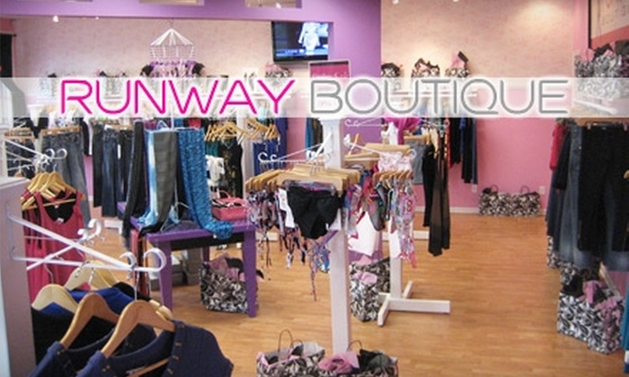 Runway Boutique - West Omaha: $20 for $50 Worth of Clothing and Accessories at Runway Boutique