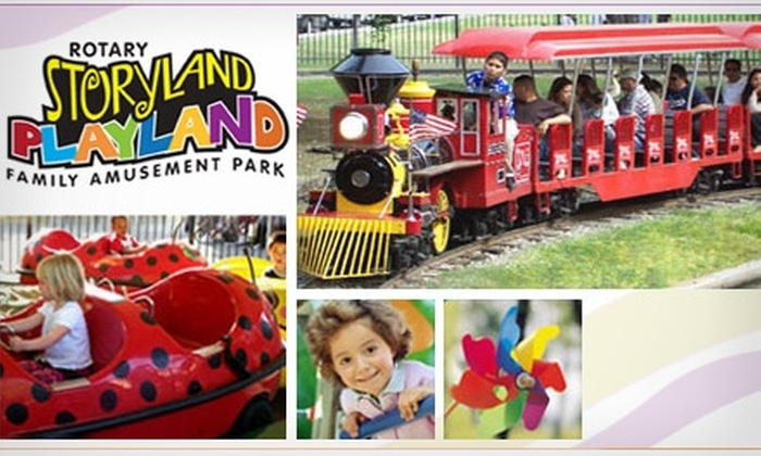 Rotary Storyland and Playland - Tower District: $5 for a Fantasy Day Pass to Rotary Storyland and Playland