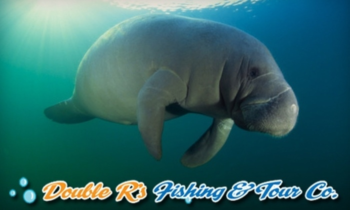 Double R's Fishing and Tours Company - Royal Fakapalm: $17 for One Child Ticket or $27 for One Adult Ticket to a Manatee Tour at Double R's Fishing and Tours Company (Up to $55 Value)