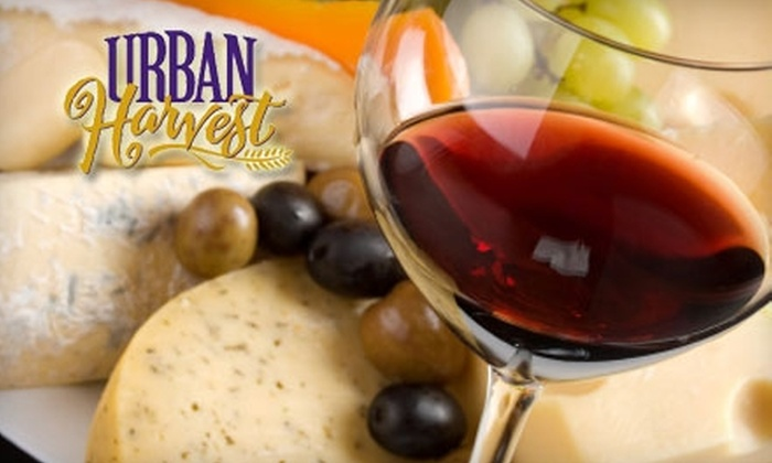 Urban Harvest - Arlington Heights: $125 for a Three-Month Food & Wine Club Membership from Urban Harvest