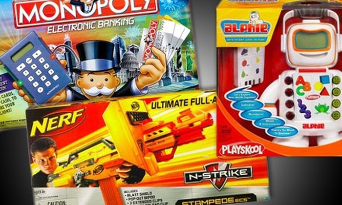 HasbroToyShop.com: $15 for $30 Worth of Toys and Games from HasbroToyShop.com