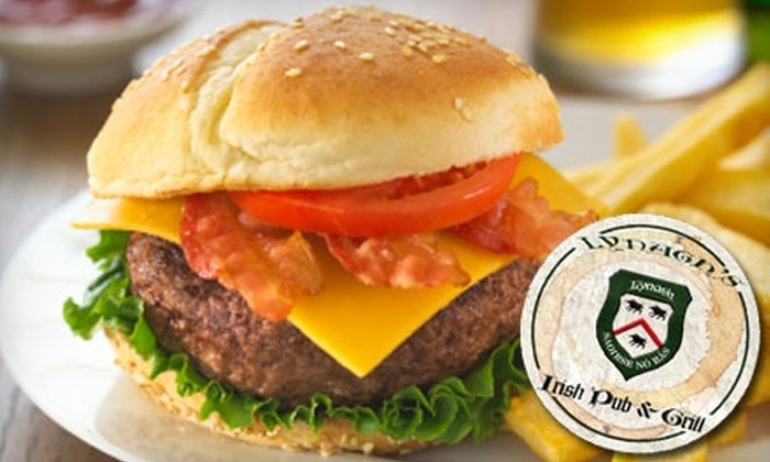 Lynagh's Irish Pub - Aylesford Place - Woodland Park: $6 for $12 Worth of Pub Fare and Pours at Lynagh's Irish Pub