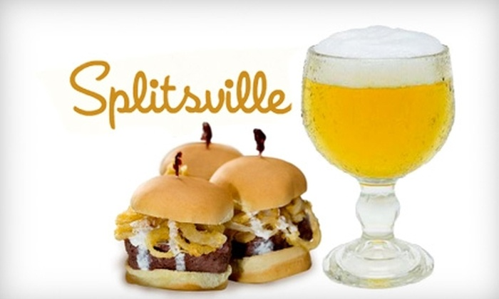 Splitsville Luxury Lanes & Dinner Lounge - Channel District: $17 for $35 Worth of Cuisine and Drinks at Splitsville Luxury Lanes & Dinner Lounge