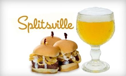 $35 Groupon to Splitsville Luxury Lanes & Dinner Lounge - Splitsville Luxury Lanes & Dinner Lounge in Tampa