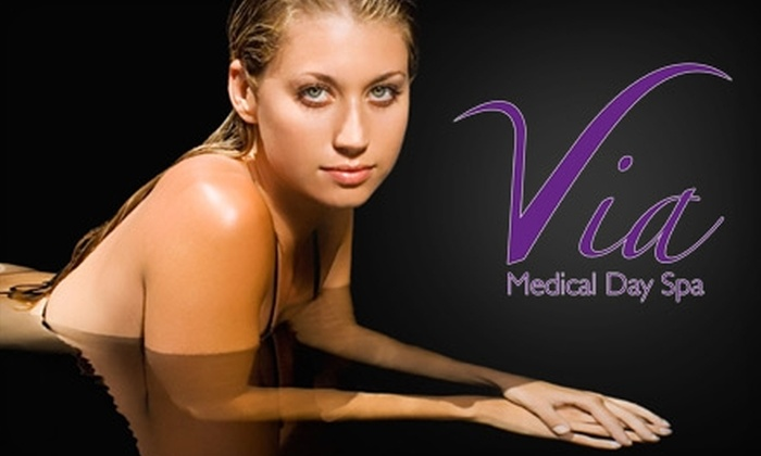 Via Medical Day Spa - Wilmington: $99 for Three Laser Hair-Removal Treatments at Via Medical Day Spa (Up to $447 Value)