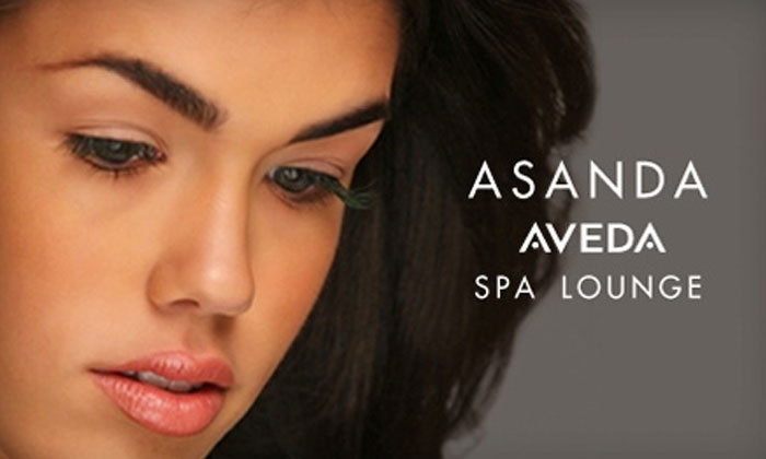 Asanda Aveda Spa Lounge - Multiple Locations: Lush, Glam, or Ultra Glam Eyelash Extensions at Asanda Aveda Spa Lounge (Up to 62% Off)