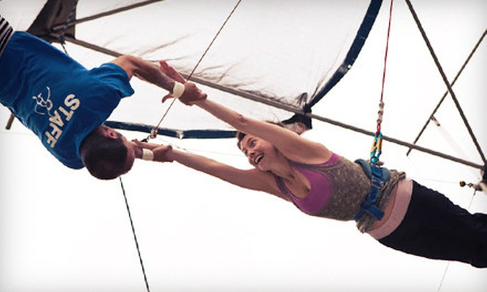 Trapeze High Florida - Middleburg: $32 for a 90-Minute Flying-Trapeze Class at Trapeze High (Up to $60 Value)
