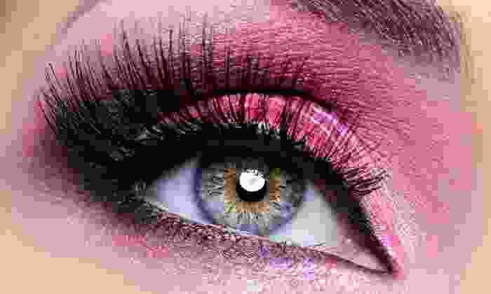 Lashes on Broadway - Multiple Locations: Half or Full Set of Eyelash Extensions at Lashes on Broadway (55% Off)