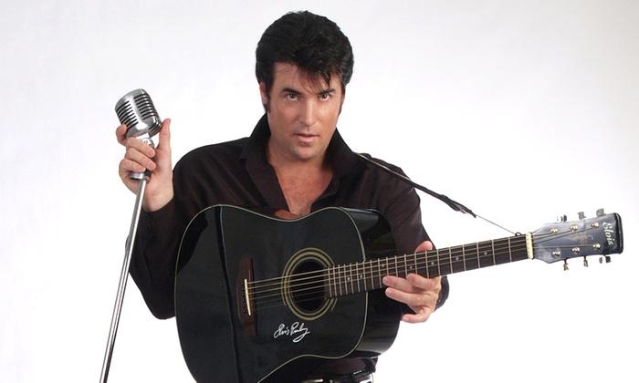 Chris MacDonald's Memories of Elvis in Concert - Bergen Performing Arts Center: Chris MacDonald's Memories of Elvis in Concert at Bergen Performing Arts Center on August 14 (Up to 52% Off)