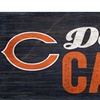 Chicago Bears Dad's Cave Sign