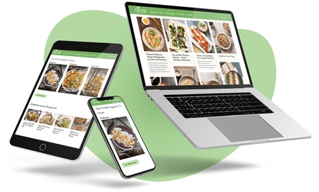 3 / 6 Monate Premium-Zugang für das VETOX-Onlineportal inkl. App, Rezepten & Ernährungsplan (bis zu