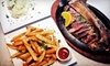 Talia's Steakhouse - Manhattan: Steak-House Prime Rib Dinner for Two or Four at Talia's Steakhouse & Bar (Up to 55% Off)
