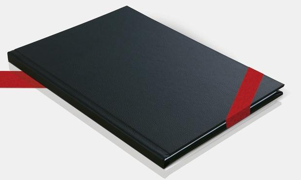 terminplaner mit ledereinband groupon goods. Black Bedroom Furniture Sets. Home Design Ideas