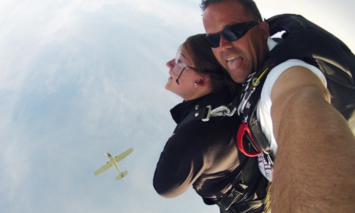 516 Skydive - The Hamptons: One or Two Tandem Skydives from 516 Skydive (Up to 41% Off)
