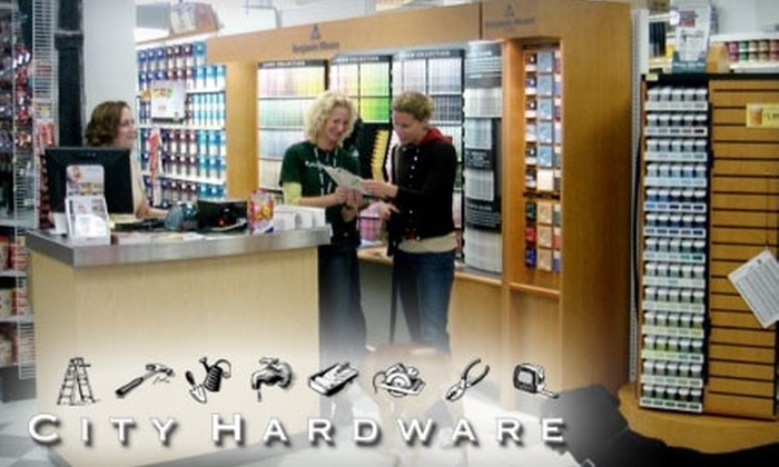 City Hardware - South-Lake Union: $20 for $40 Worth of Hardware-Type Goods at City Hardware
