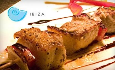 $25 Groupon to Ibiza Tapas & Wine Bar - Ibiza Tapas & Wine Bar in Pittsburgh