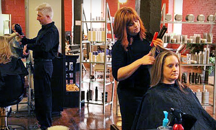Zen Micro Spa and Salon - Diamond Hill: $22 for Haircut and Blow-Dry at Zen Micro Spa and Salon in Lynchburg ($45 Value)