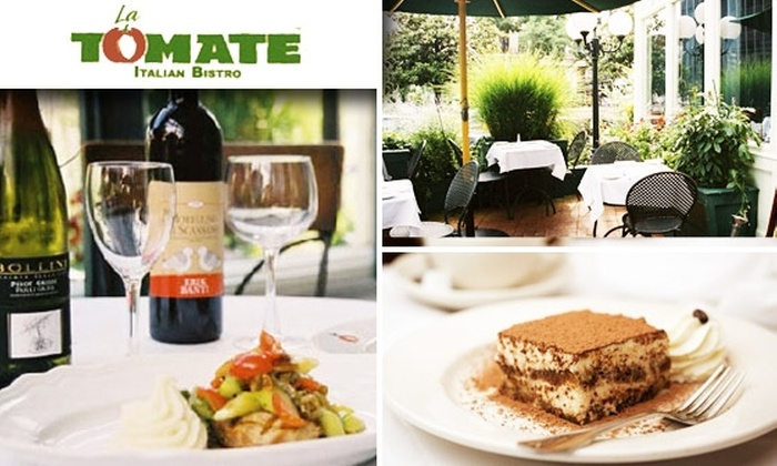 La Tomate - Dupont Circle: $20 for a $40 Groupon to La Tomate Restaurant