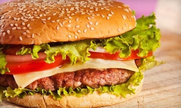 Hamburger Patties - Sacramento: $10 for $20 Worth of Grill Fare at Hamburger Patties