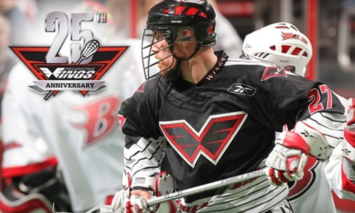 Philadelphia Wings - South Philadelphia East: $19 for One Ticket to a Philadelphia Wings Lacrosse Game ($38 Value). Choose Between Two Dates.