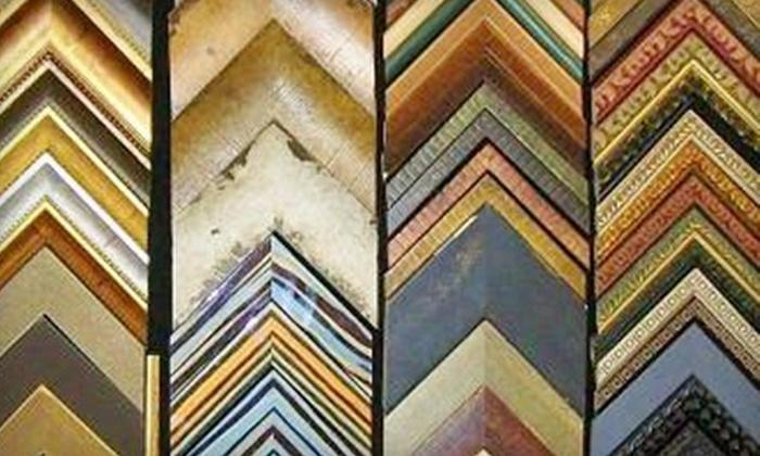 Four Corners Framing Company - Holland: $25 for $50 Toward Custom Framing, Prints, and Original Artwork at Four Corners Framing Company in Holland