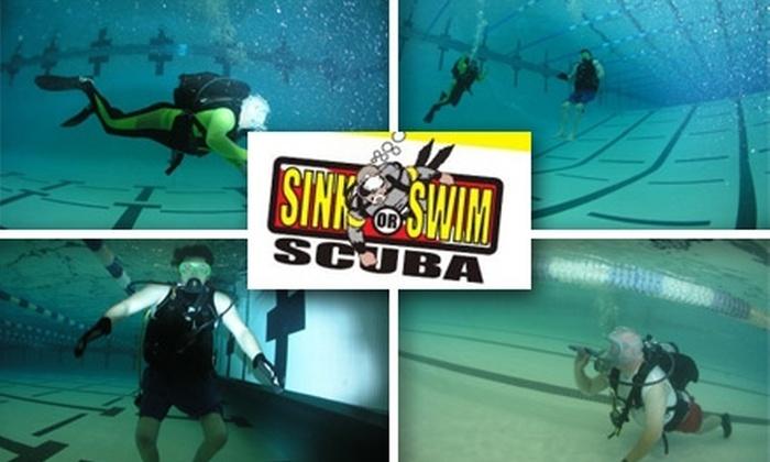 Sink or Swim Scuba - Lowell: $99 for an Open-Water Scuba-Certification Course at Sink or Swim Scuba ($300 Value)