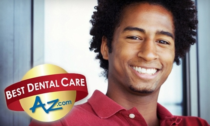 Best Dental Care AZ - Multiple Locations: $29 for a Cleaning, Exam, X-Rays, and Teeth-Whitening Kit from Best Dental Care AZ