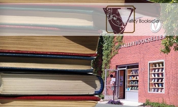 The Valley Bookseller - Stillwater: $10 for $20 Worth of Bestselling Books, Local Literature, and More at The Valley Bookseller