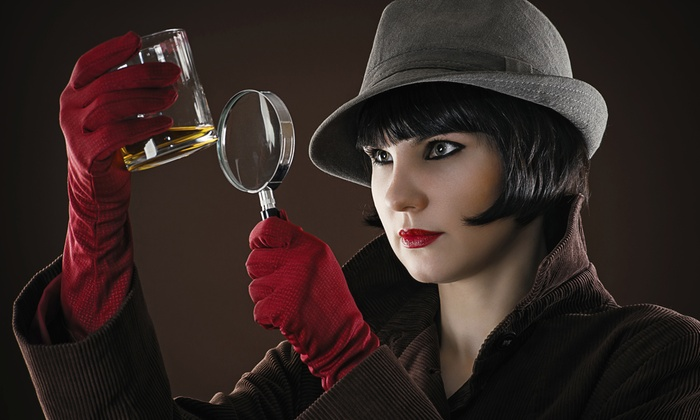 Dinner Detective - Dallas - Downtown Dallas: $118 for Interactive 4-Course Murder-Mystery Dinner for Two from Dinner Detective ($204 value)