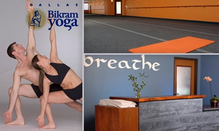 Bikram Yoga Dallas - Northeast Dallas-white Rock: $20 for One Month of Unlimited Yoga Classes at Bikram Yoga Dallas ($180 Value)