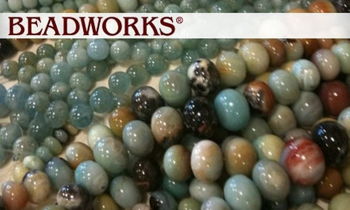 Beadworks - Norwalk: $16 for a One-Hour Jewelry Class at Beadworks in Norwalk (Up to $35 Value)
